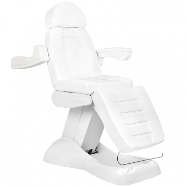 Fotel Kosmetyczny Elektryczny Lux 4M Biały Z Kołyską #2