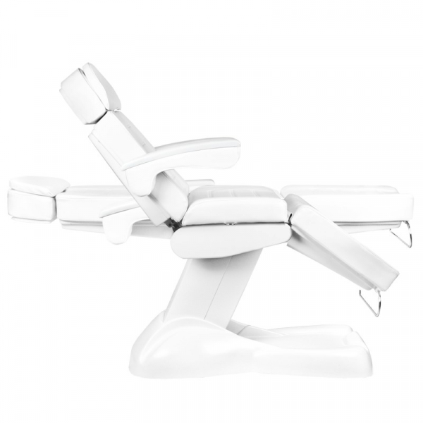Fotel Kosmetyczny Elektryczny Lux 4M Biały Z Kołyską #7