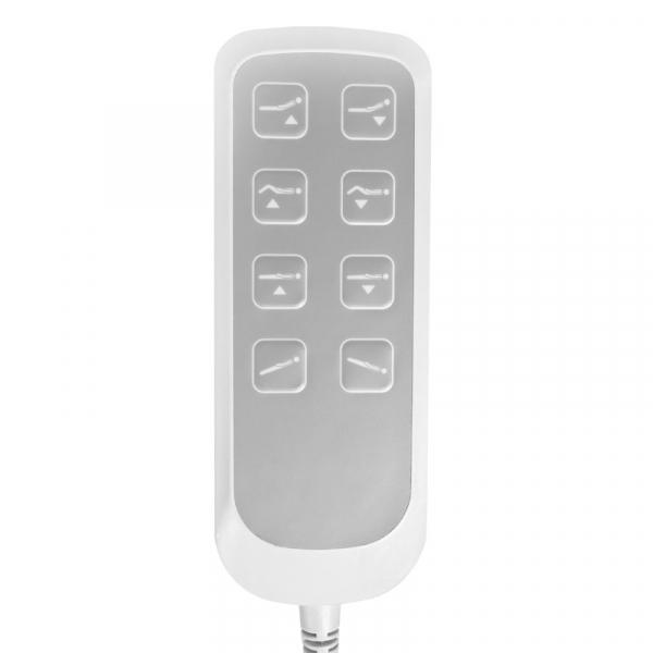 Fotel Kosmetyczny Elektryczny Lux 4M Biały Z Kołyską #9