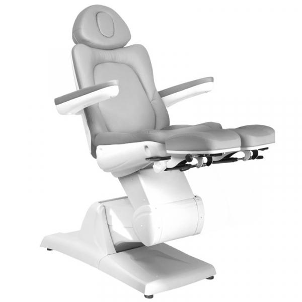 Fotel Kosmetyczny Elektr. Azzurro 870s Pedi 3 Siln. Szary #4