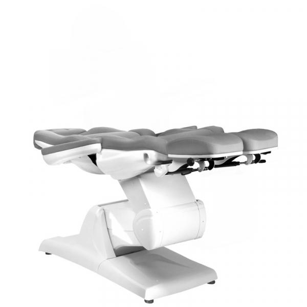 Fotel Kosmetyczny Elektr. Azzurro 870s Pedi 3 Siln. Szary #7