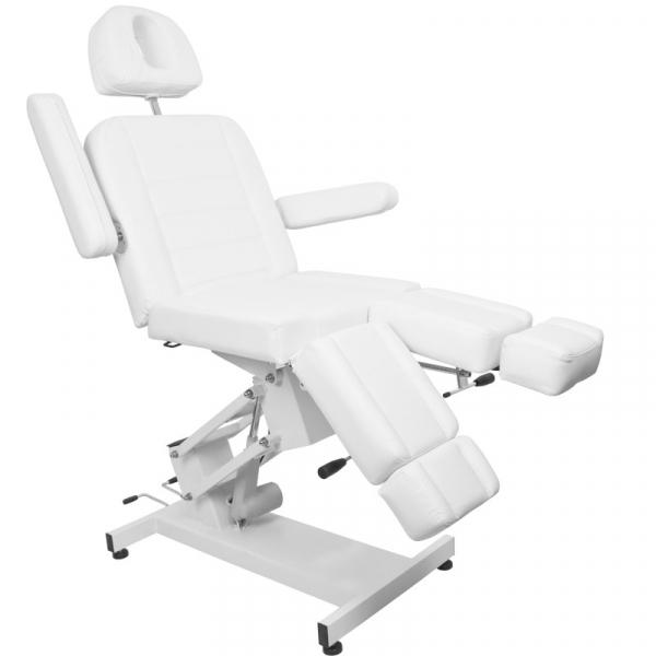 Fotel Kosmetyczny Elektr. Azzurro 706 Pedi 1 Siln. Biały #4