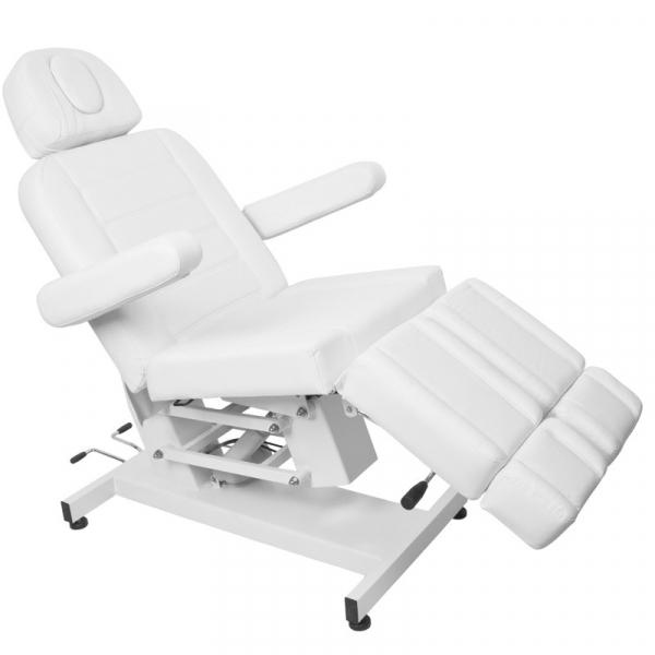 Fotel Kosmetyczny Elektr. Azzurro 706 Pedi 1 Siln. Biały #8