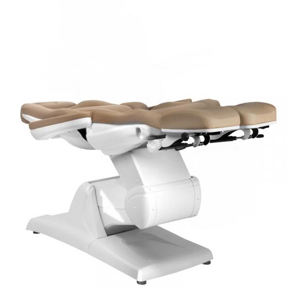Fotel Kosmetyczny Elektr. Azzurro 870s Pedi 3 Siln. Cappuccino #7