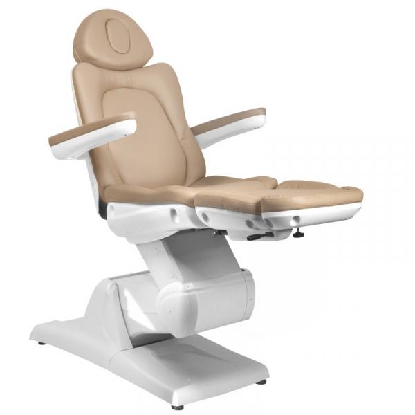 Fotel Kosmetyczny Elektr. Azzurro 870 3 Siln. Cappuccino #7