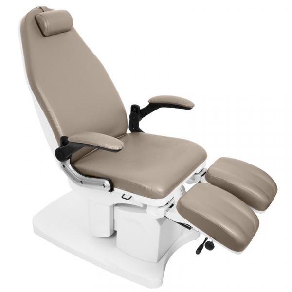 Fotel Podologiczny Elektr. Azzurro 709a 3 Siln. Cappuccino #2