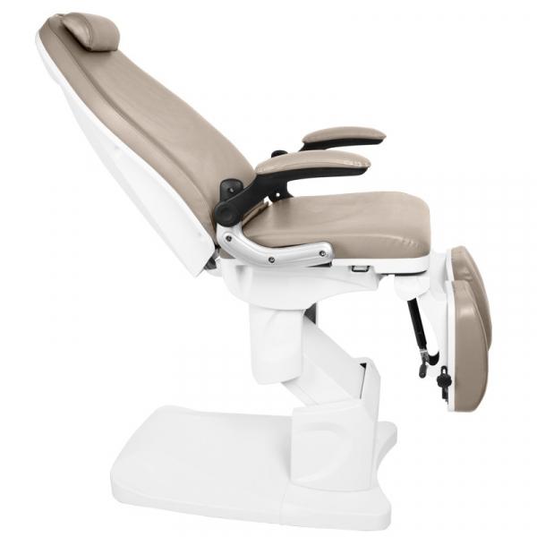 Fotel Podologiczny Elektr. Azzurro 709a 3 Siln. Cappuccino #3