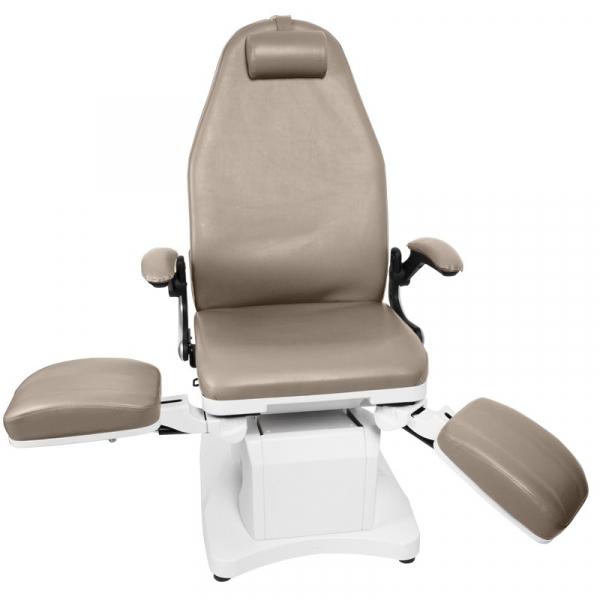 Fotel Podologiczny Elektr. Azzurro 709a 3 Siln. Cappuccino #6