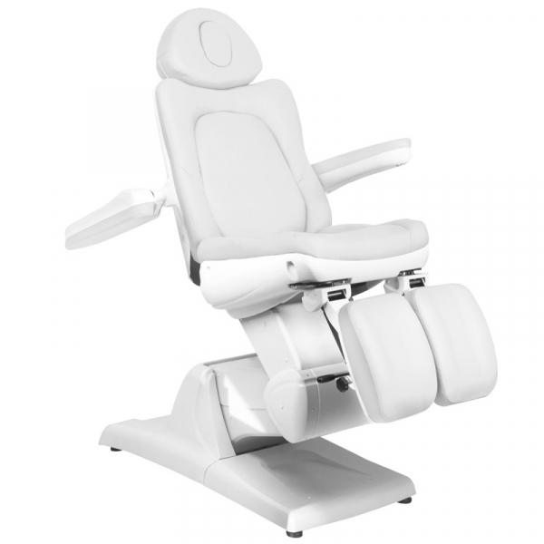 Fotel Kosmetyczny Elektr. Azzurro 870s Pedi 3 Siln. Biały #2