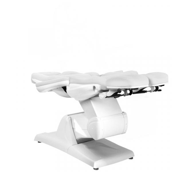 Fotel Kosmetyczny Elektr. Azzurro 870s Pedi 3 Siln. Biały #5