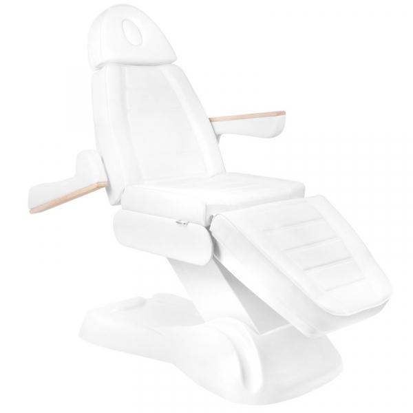 Elektryczny Fotel Kosmetyczny Lux 273b 3 Silniki Biały #3