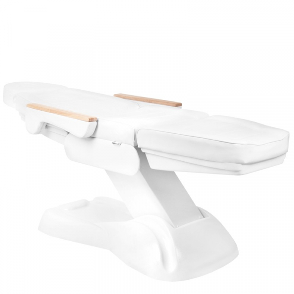 Elektryczny Fotel Kosmetyczny Lux 273b 3 Silniki Biały #4