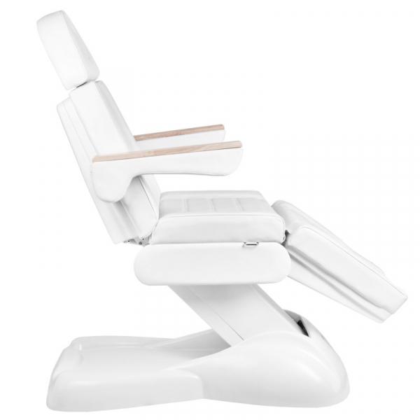 Elektryczny Fotel Kosmetyczny Lux 273b 3 Silniki Biały #5