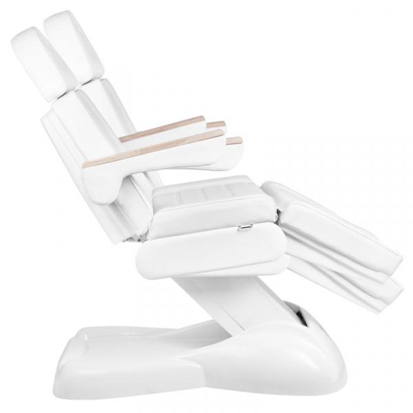 Elektryczny Fotel Kosmetyczny Lux 273b 3 Silniki Biały #6