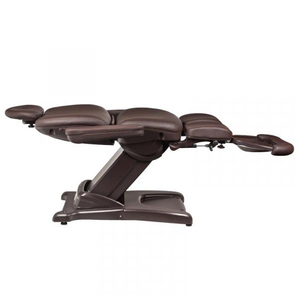 Fotel Kosmetyczny Elektr. Azzurro 872s Pedi-Pro 3 Siln. Brązowy #2