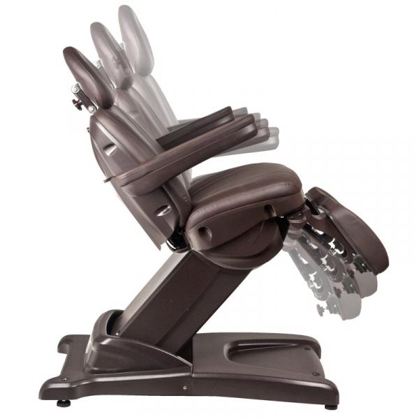 Fotel Kosmetyczny Elektr. Azzurro 872s Pedi-Pro 3 Siln. Brązowy #9