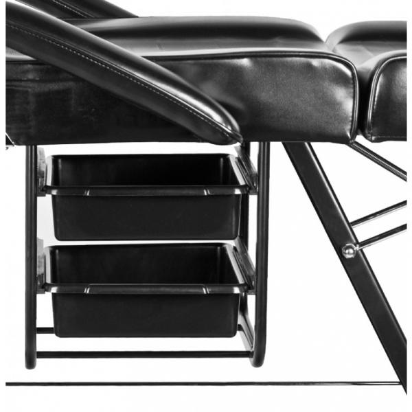 Fotel Kosmetyczny A 202 Z Kuwetami Czarny #5