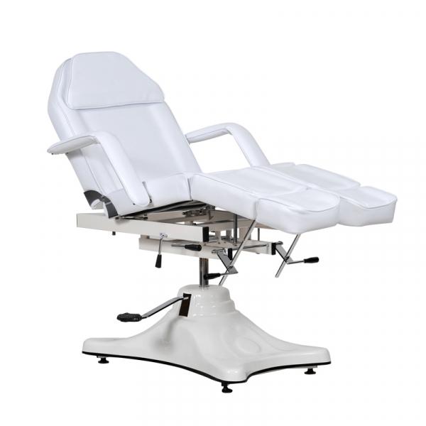 Fotel Kosmetyczny Komfort Duo Biały #5