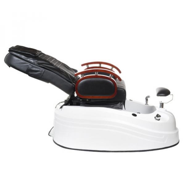 Fotel do pedicure z masażem BR-2307 Czarny #6