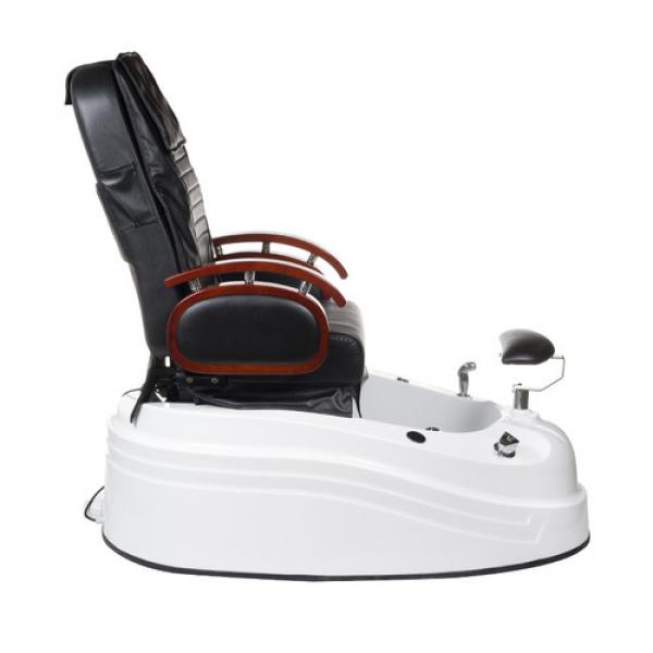 Fotel do pedicure z masażem BR-2307 Czarny #7