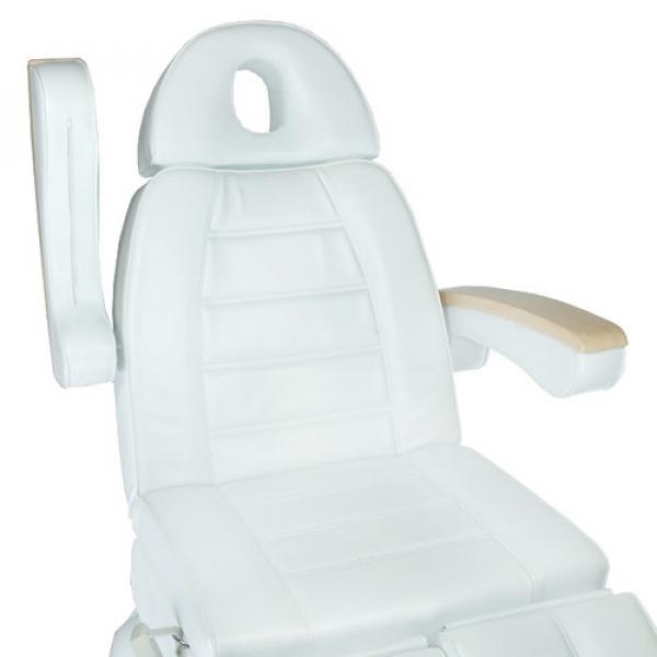 Fotel Kosmetyczny Elektr. Basic 158 3 Siln. Biały #2