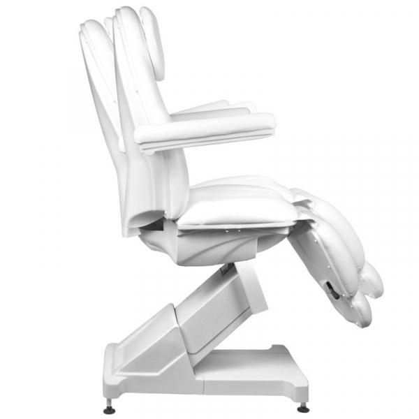 Fotel Kosmetyczny Elektr. Basic 158 3 Siln. Biały #8