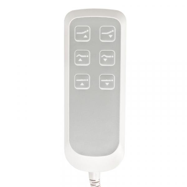 Fotel Kosmetyczny Elektr. Basic 158 3 Siln. Biały #9