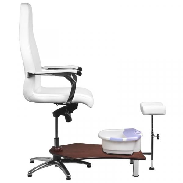 Fotel Spa Do Pedicure Azzurro 230 Biały #3