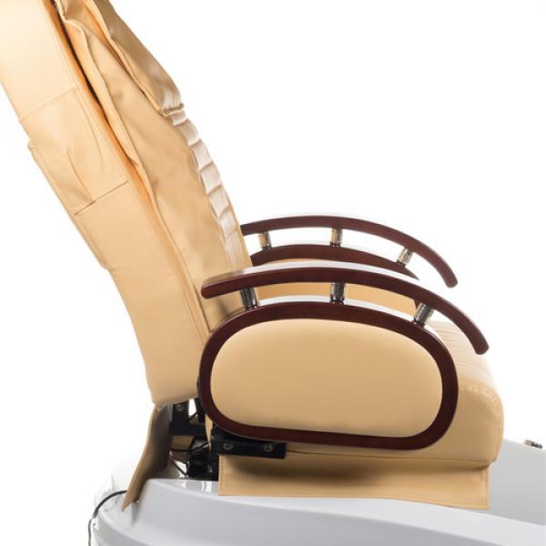 Fotel do pedicure z masażem BR-2307 Beżowy #3