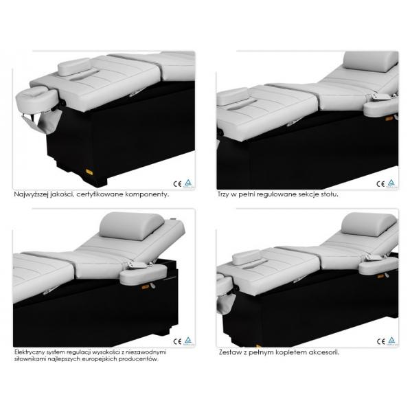 Stół do masażu, spa elektryczny optima 3 #5