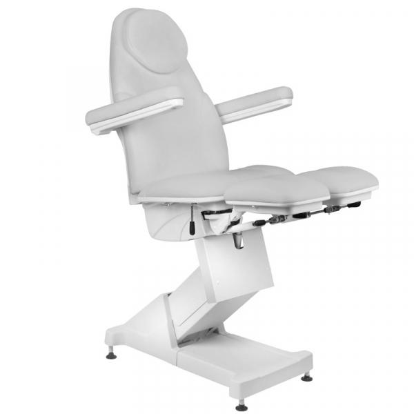 Fotel Kosmetyczny elektryczny BASIC 156 PEDI 3 SILN. SZARY #4