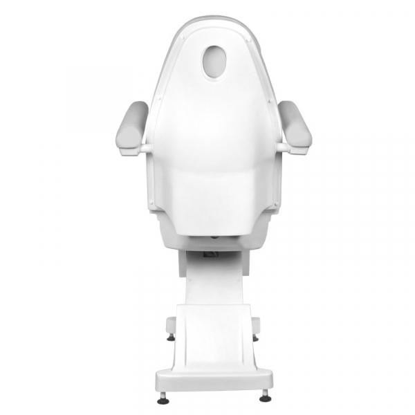 Fotel Kosmetyczny elektryczny Basik 158 3 SILN. obrotowy SZARY #7