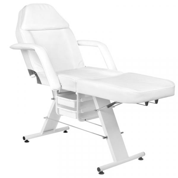 Fotel Kosmetyczny Basic 202 Biały #7