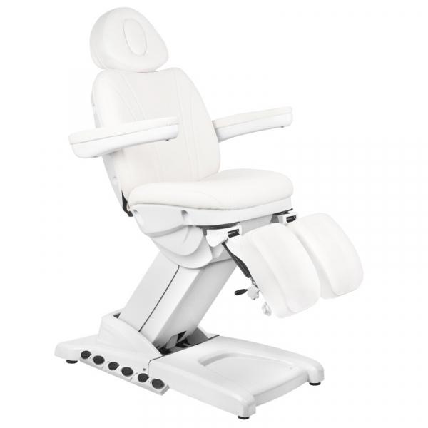 Fotel Kosmetyczny Elektr. Azzurro 872S Pedi Pro Exclusive 3 Siln. Biały #1
