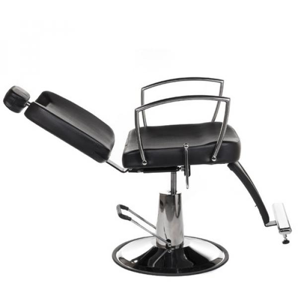 Fotel Barberski Homer II BH-31275 Czarny #3