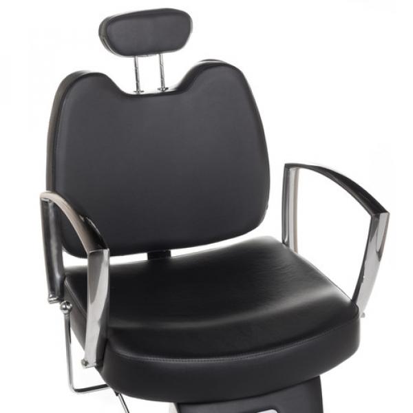 Fotel Barberski Homer II BH-31275 Czarny #4