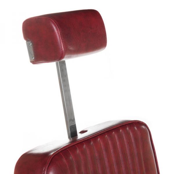 Fotel Barberski Lumber BH-31823 Burgund #10