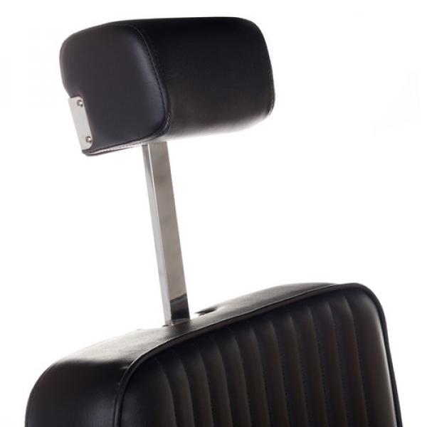 Fotel Barberski Lumber BH-31823 Czarny #8