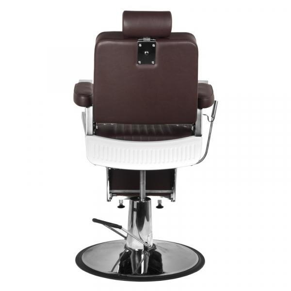 Gabbiano Fotel Barberski Royal Ii Brązowy #3