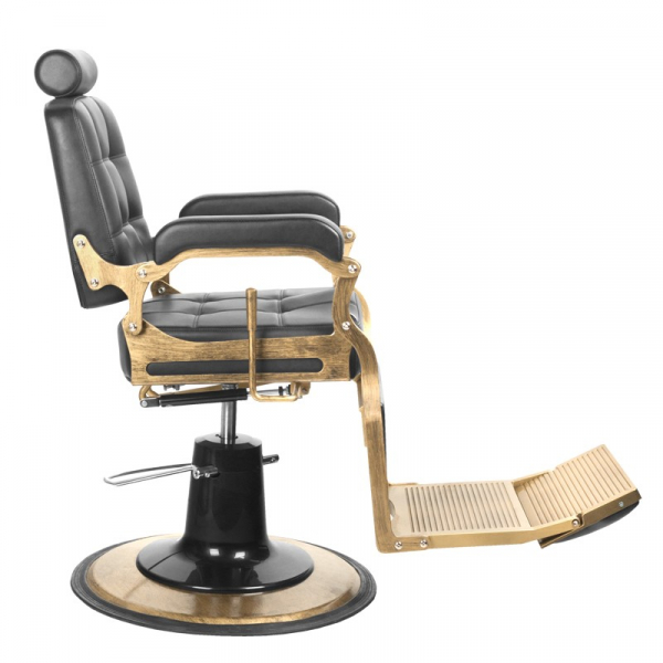 Gabbiano Fotel Barberski Boss Czarny #2