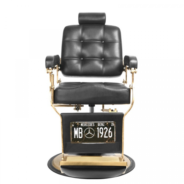 Gabbiano Fotel Barberski Boss Czarny #5