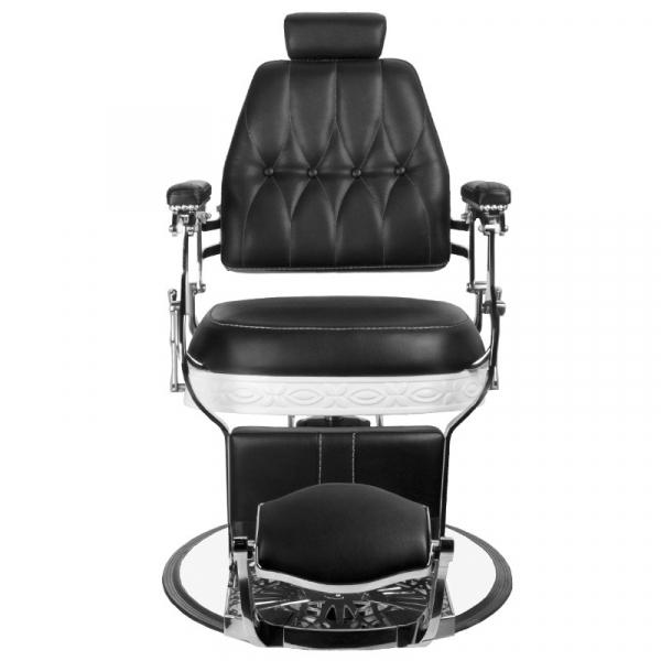 Gabbiano Fotel Barberski Lord Czarny #5