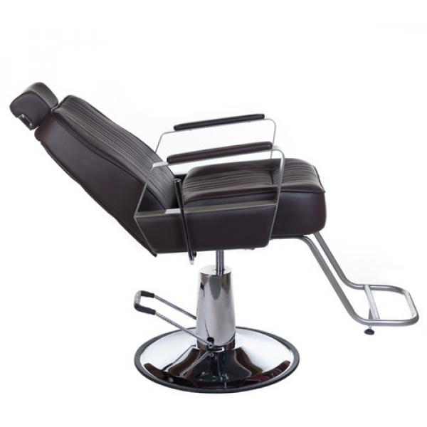 Fotel Barberski HOMER BH-31237 Brązowy #2