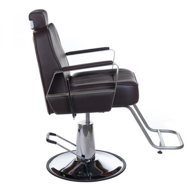 Fotel Barberski HOMER BH-31237 Brązowy #3