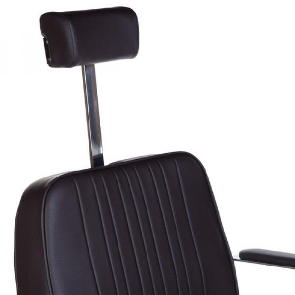 Fotel Barberski HOMER BH-31237 Brązowy #4