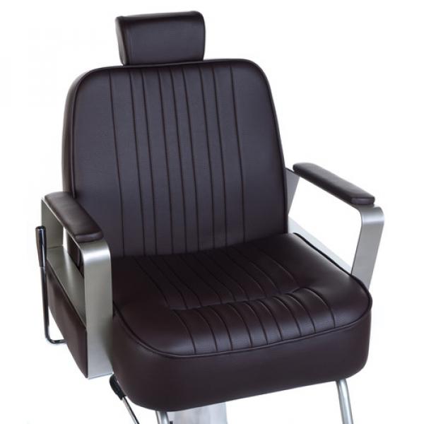 Fotel Barberski HOMER BH-31237 Brązowy #5
