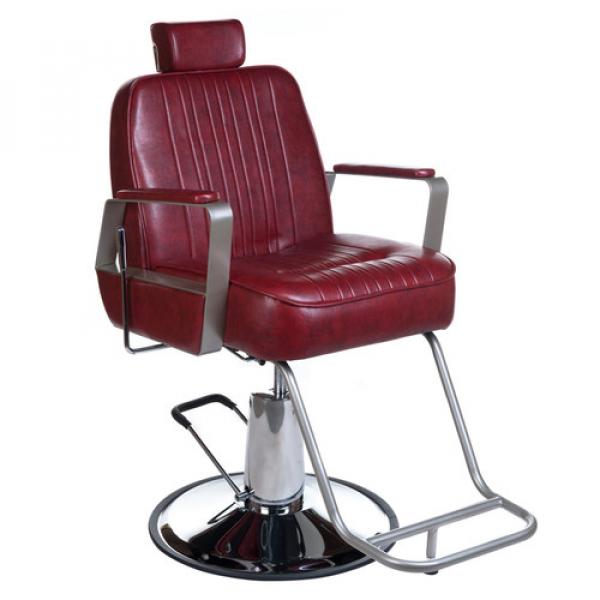 Fotel Barberski HOMER BH-31237 Czerwony #3