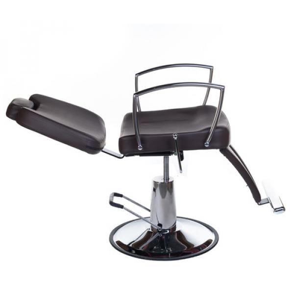 Fotel Barberski HOMER II BH-31275 Brązowy #4