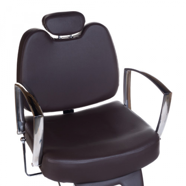 Fotel Barberski HOMER II BH-31275 Brązowy #6