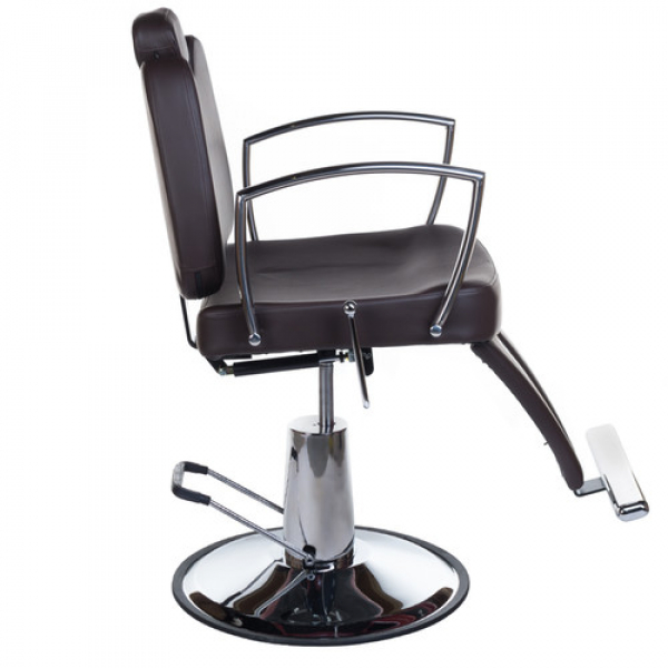 Fotel Barberski HOMER II BH-31275 Brązowy #8